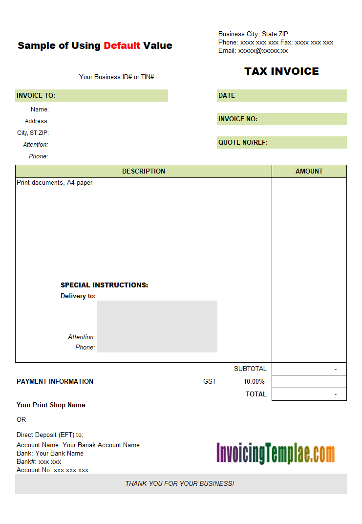Proforma Invoice Sample No Commercial Value - Invoice value