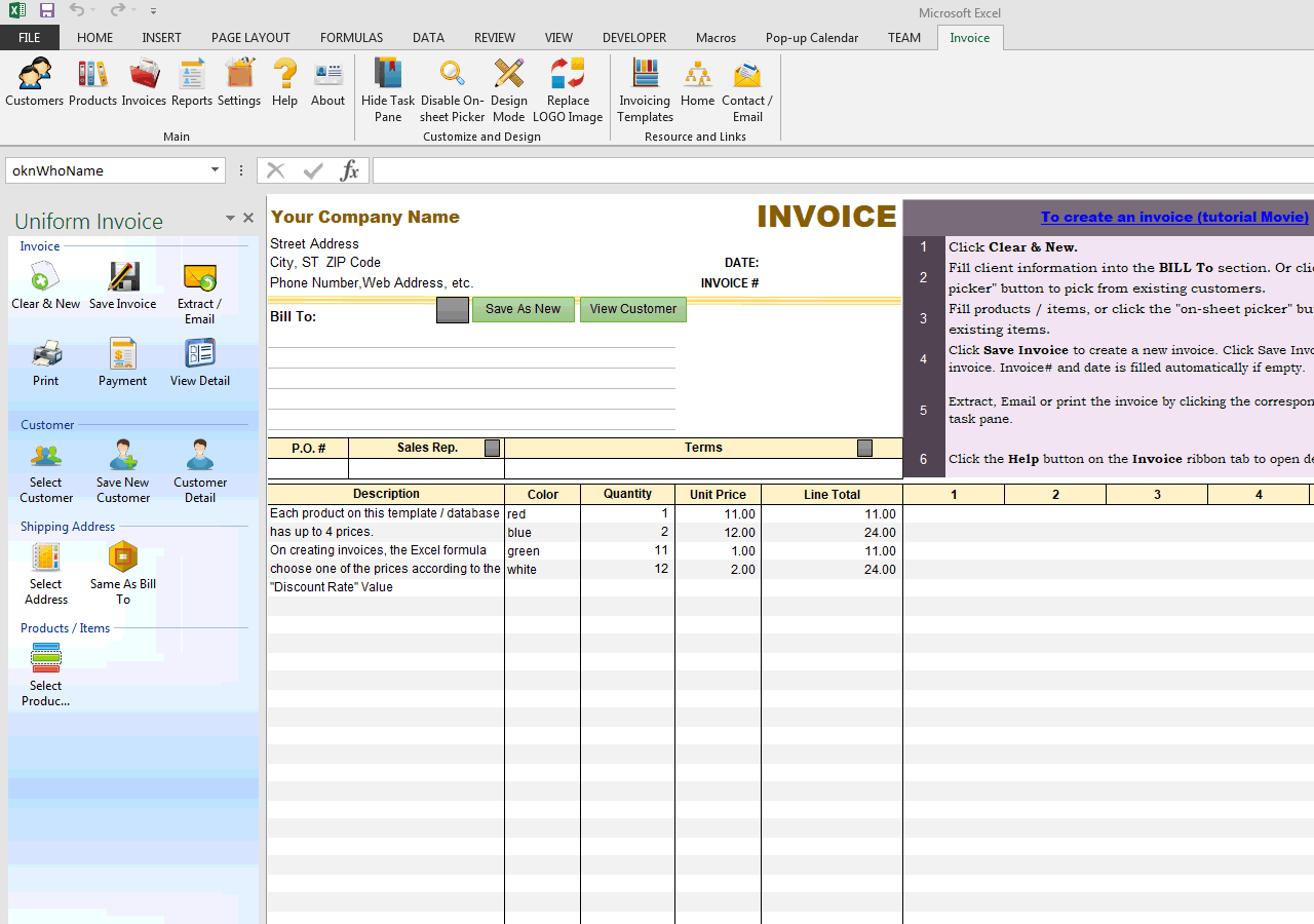 Five Price Levels (Service, Amount, Custom Column) (IMFE Edition)