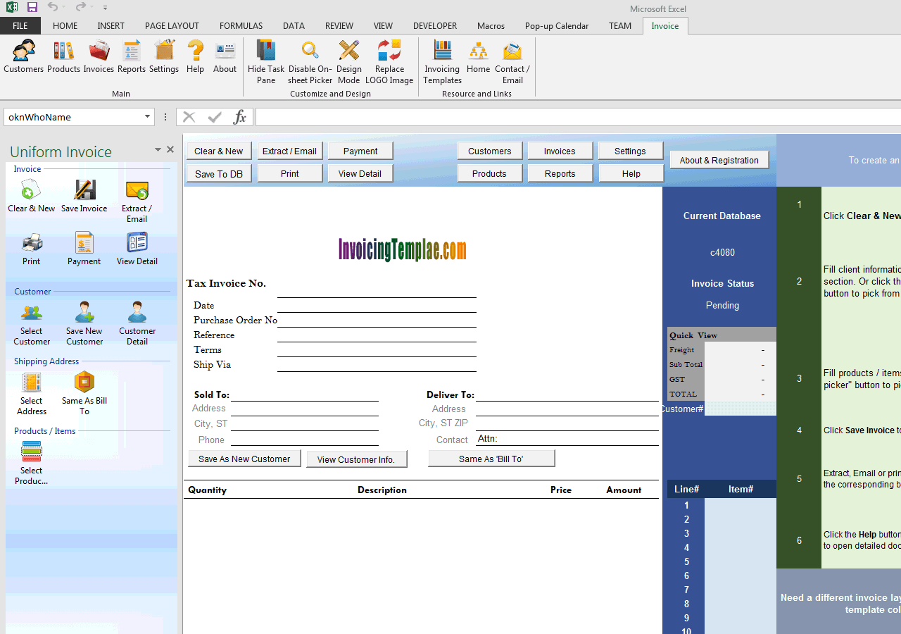invoice and packing list on separate worksheet invoice and packing list on separate worksheet uis edition