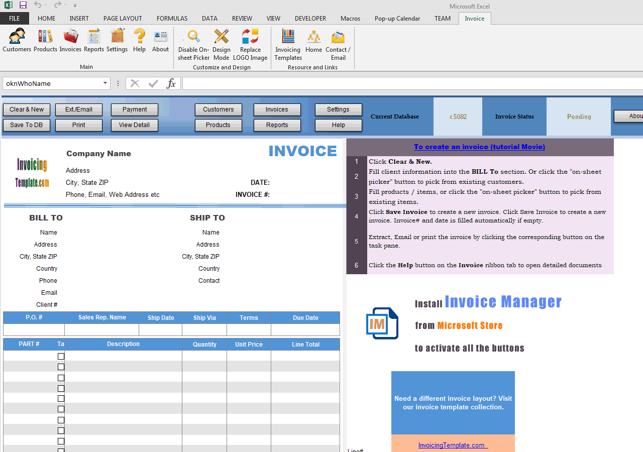 3-Page Invoicing Format - IMFE edition