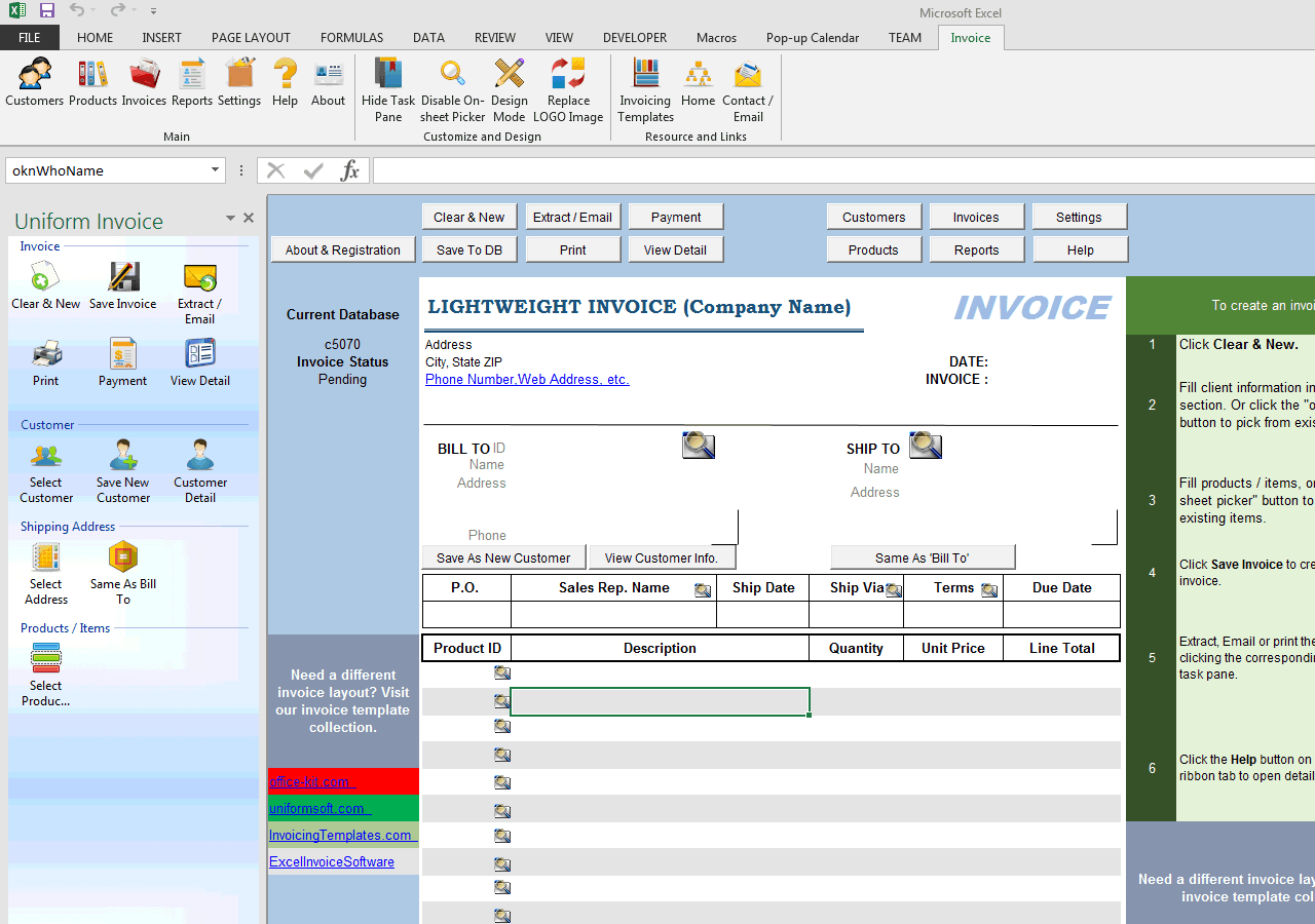 lightweight s invoice template lightweight s invoice template uis edition