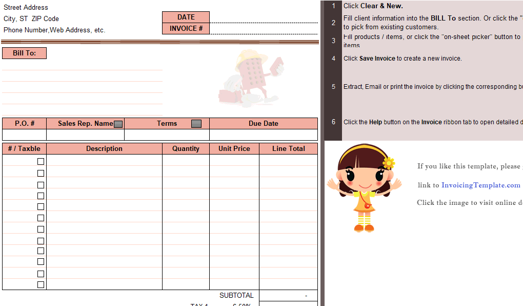 Masonry Billing Form
