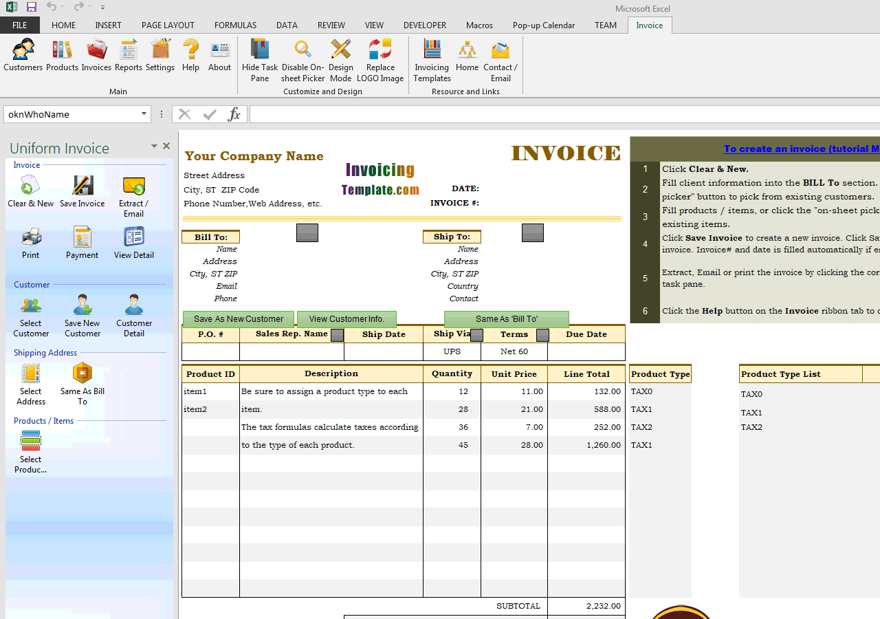 Multiple Tax Rates on One Invoice (IMFE Edition)