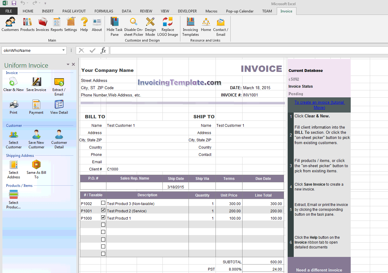 Invoice Sample With Partial Payment And Payment History - Partial payment invoice template