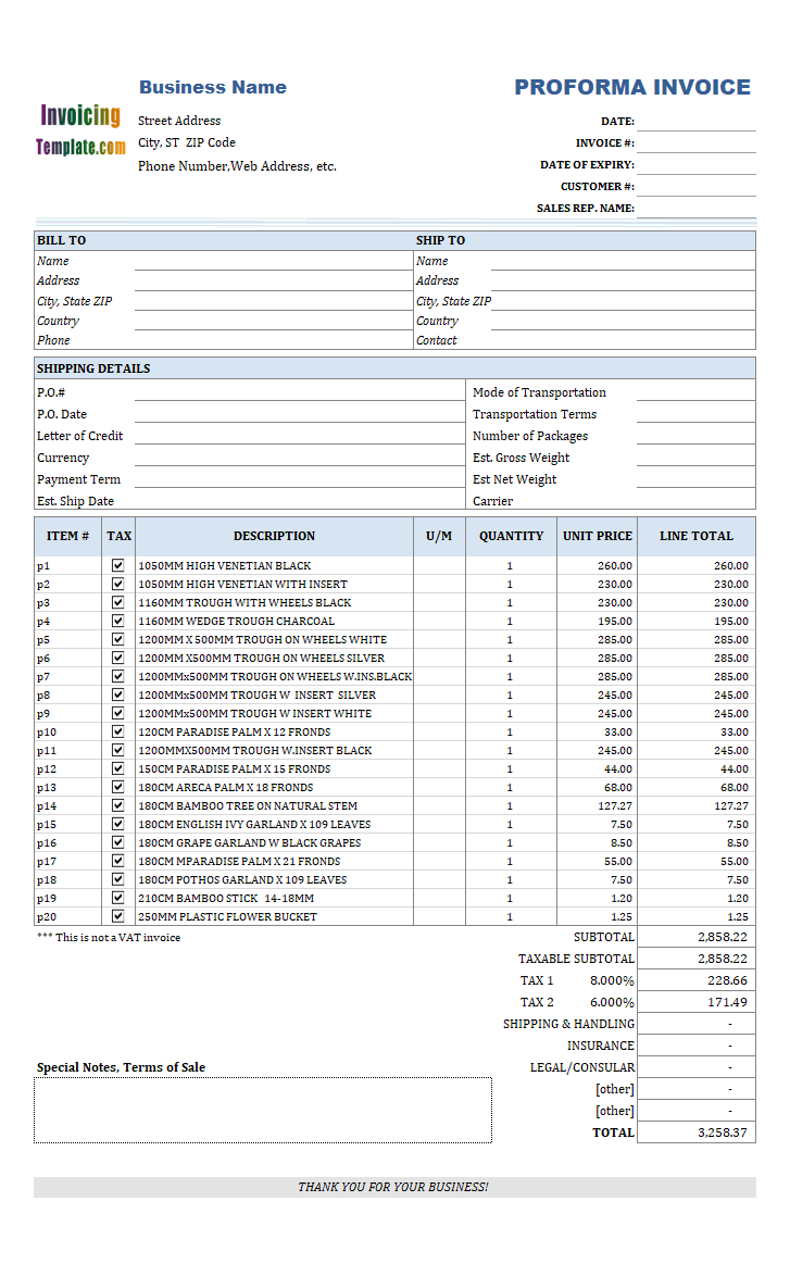 Sage Invoice Template Download