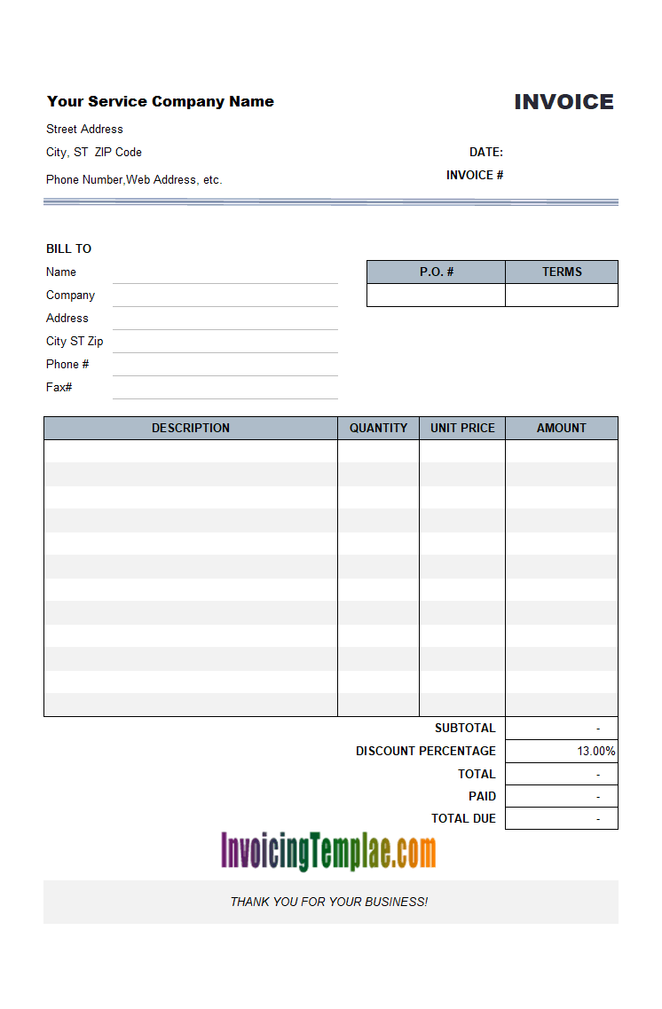 broker fee receipt templates