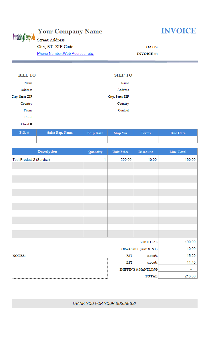 Simple Sample - Adding Discount Column