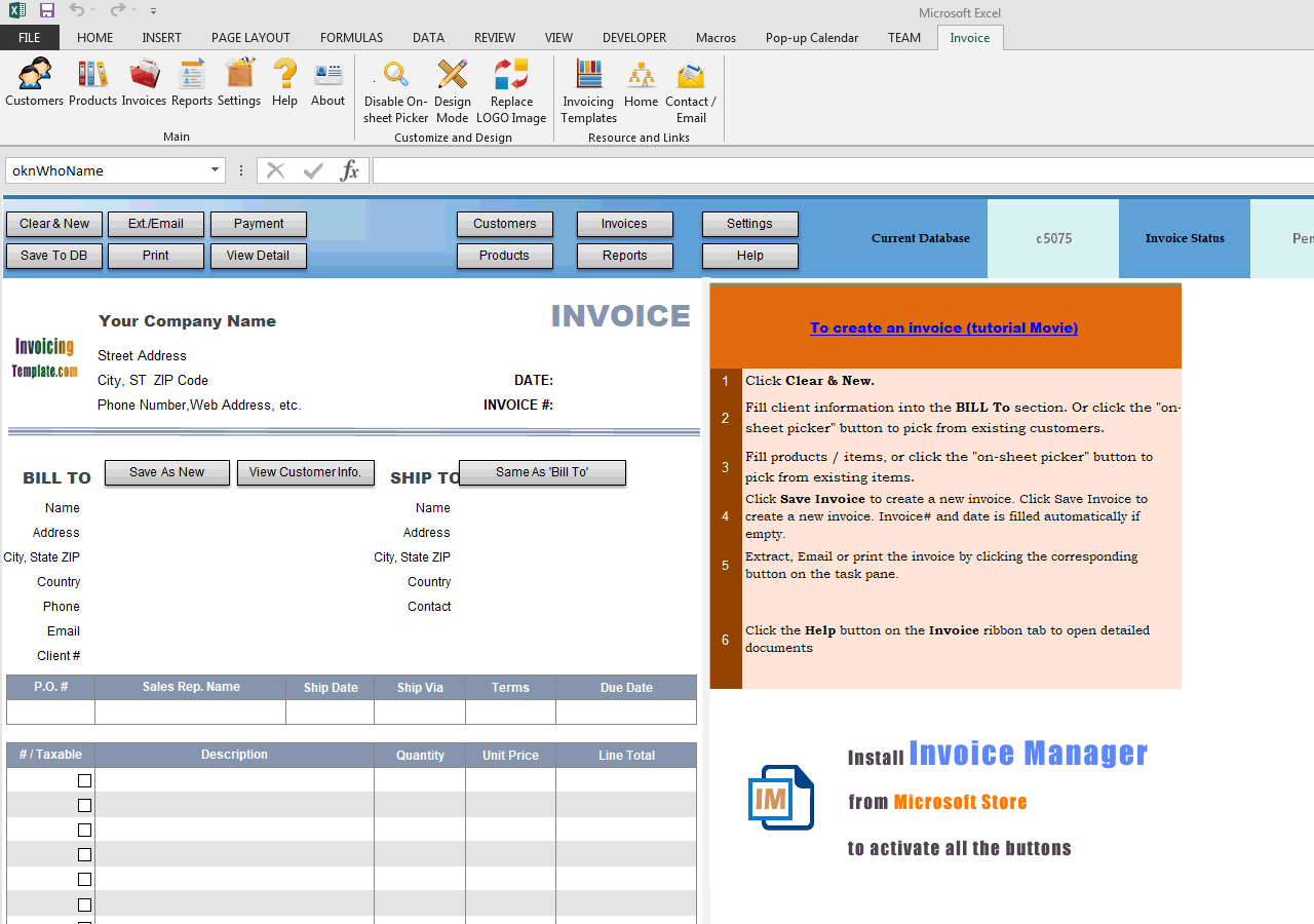 Simple Sample - Moving Balance and Payment Cells (UIS Edition)