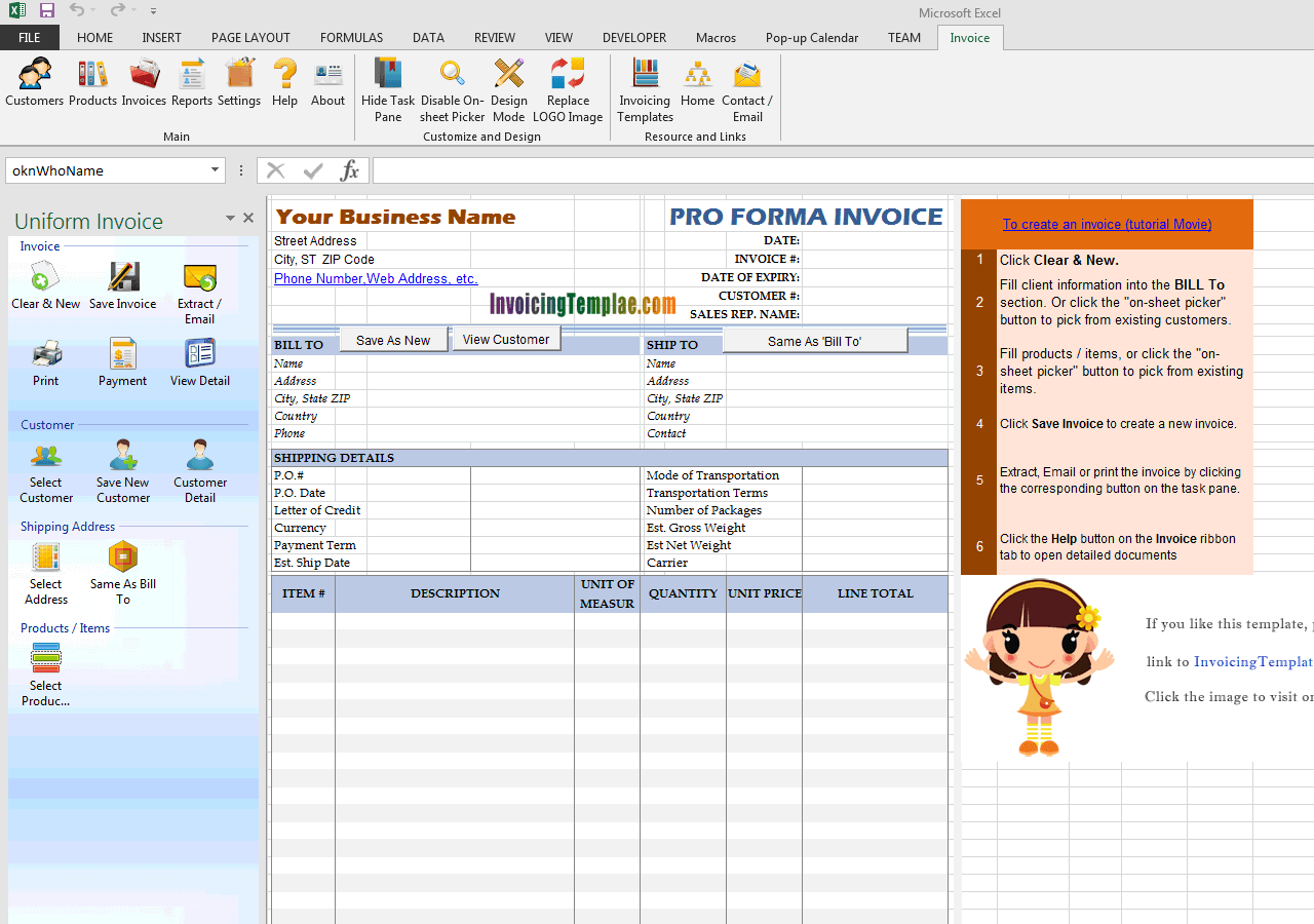 simple proforma invoicing sample simple proforma invoicing sample uis edition